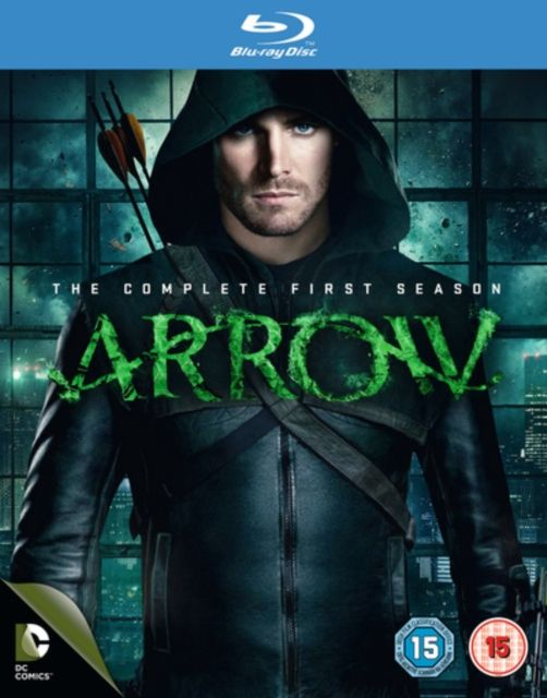 Arrow - Series 1 - Complete 1st Season (Blu-ray, 2013, 4-Disc Set) Region Free
