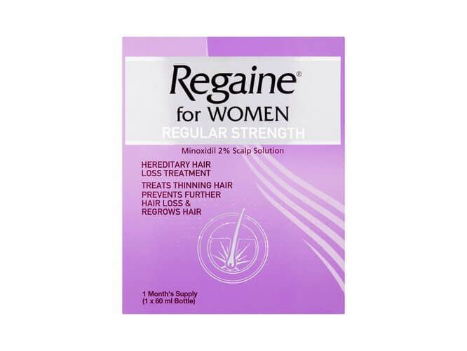 Regaine for Women Regular Strength Scalp Solution 2% - 60ml