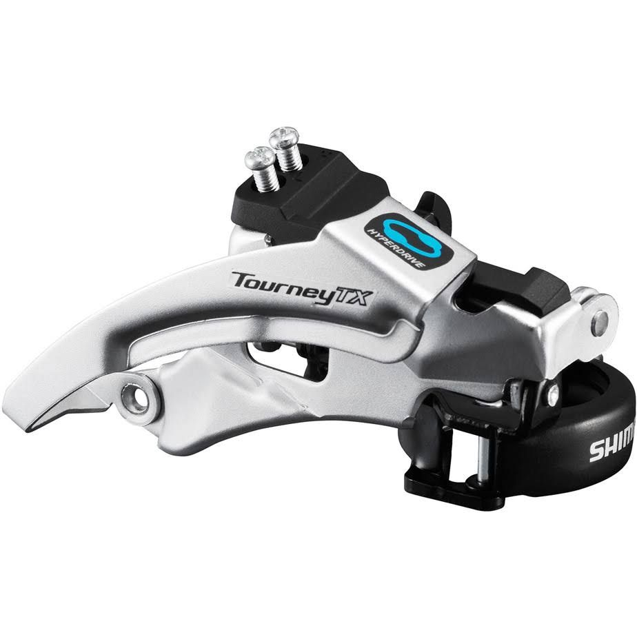 Shimano Tourney TX800 8 Speed Triple Front Derailleur Silver