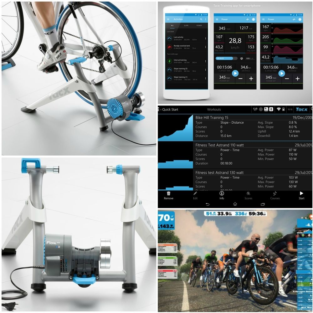 Tacx Flow Smart T2240 Indoor Home Bike Cycle Cycling
